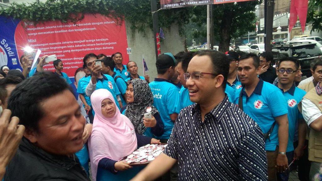 Sudah Punya 200 Posko Relawan, Anies Baswedan: Akan Bertambah Terus