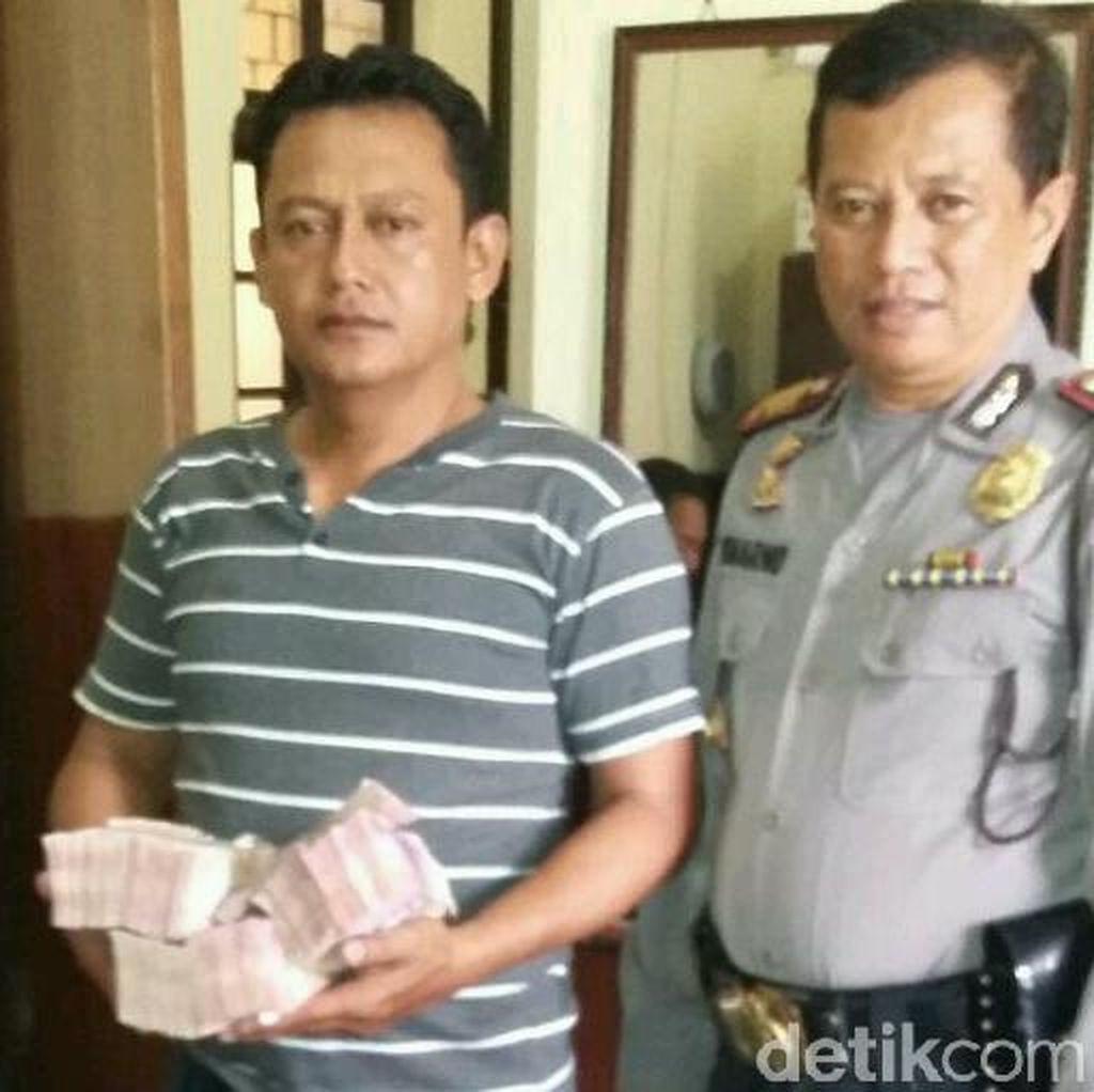 Ini Aiptu Efendi, Polisi yang Lawan 4 Perampok dan Selamatkan Uang Rp 278 Juta