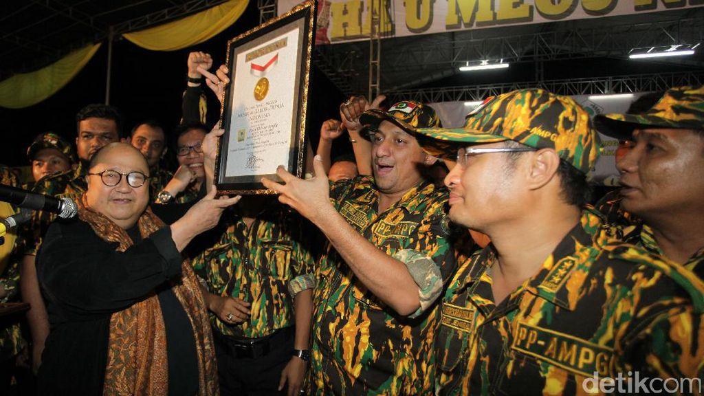 Ribuan Kader Golkar Ikuti Pelatihan Bela Negara