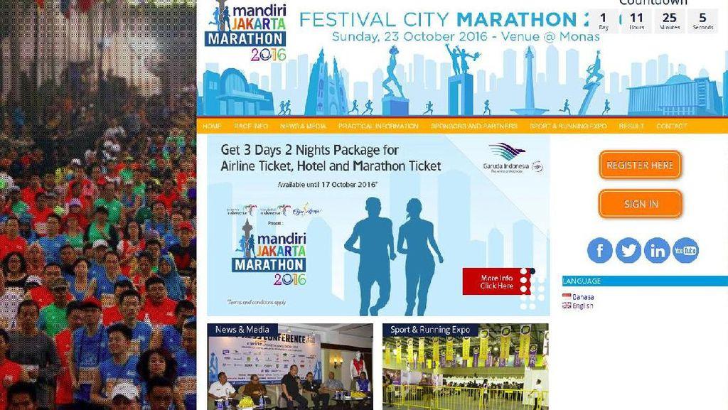 Ada Jakarta Marathon 23 Oktober, Tol Dalam Kota Ditutup Pkl 04.30-13.00 WIB