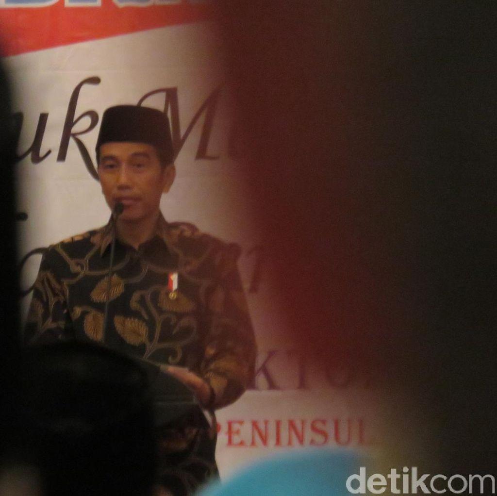 Presiden Jokowi Buka Muktamar Islah Persatuan Tarbiyah Islamiyah