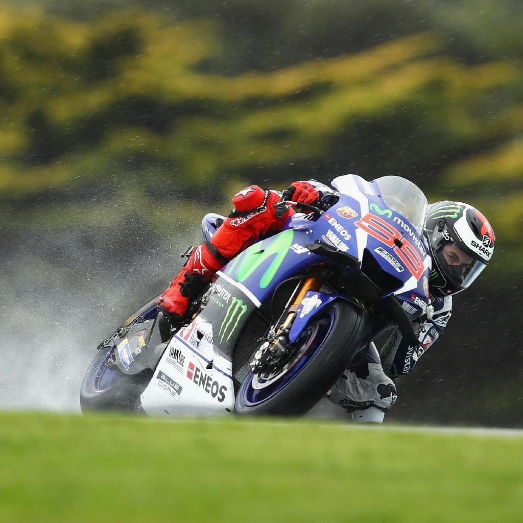 Cuaca Buruk, Latihan Bebas Kedua MotoGP Australia Dibatalkan