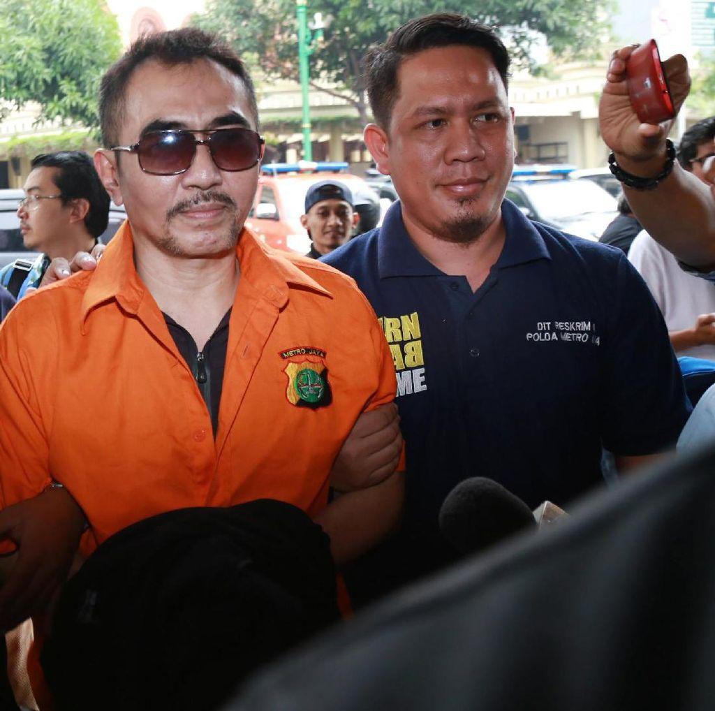 Dibawa ke Jakarta, Gatot Brajamusti Jalani Pemeriksaan Terakhir Kasus Senpi