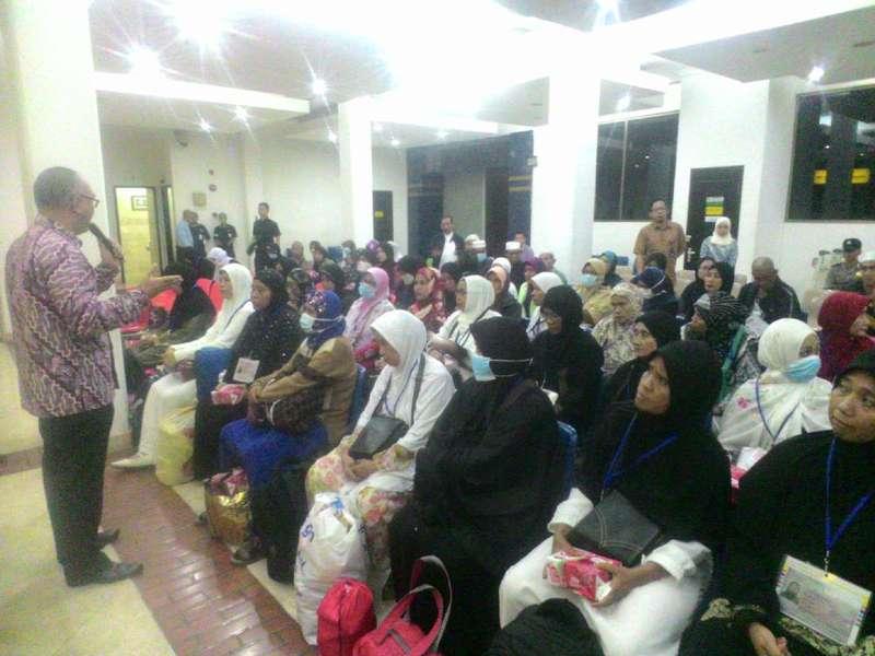 57 Jamaah Haji Indonesia Berpaspor Filipina Tiba di Tanah Air