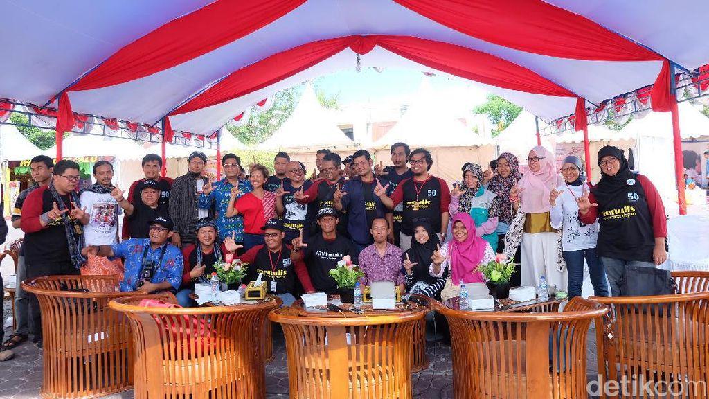 Pegiat Literasi Indonesia Timur Ceritakan Suka Duka Dirikan Taman Bacaan