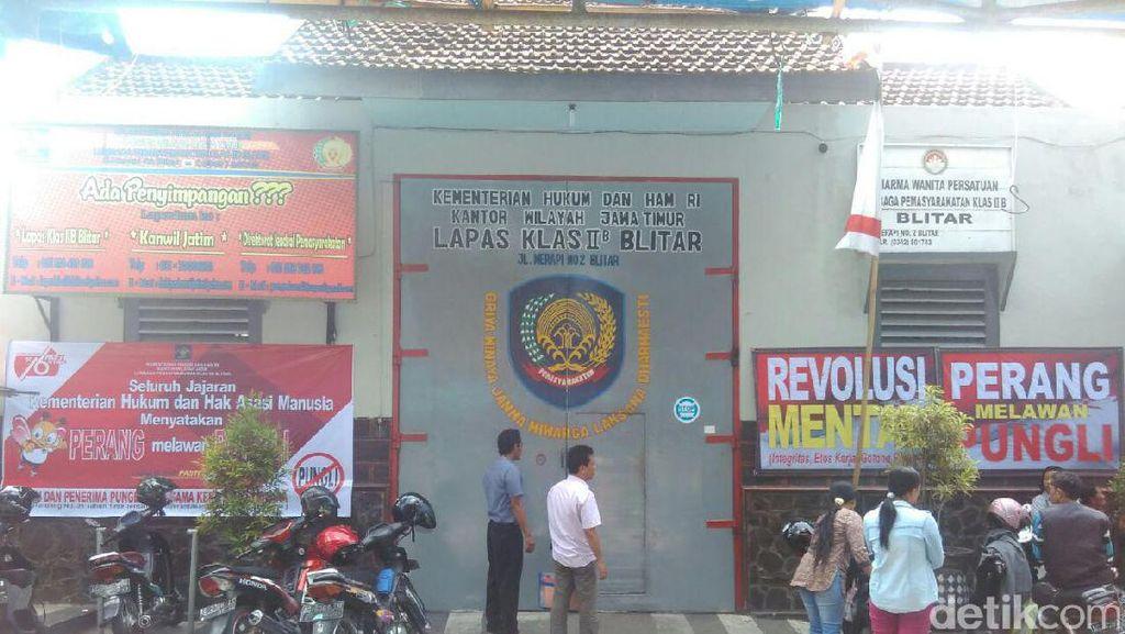 BNN Tes Urine di Lapas di Blitar, 1 Oknum Polisi Positif Sabu