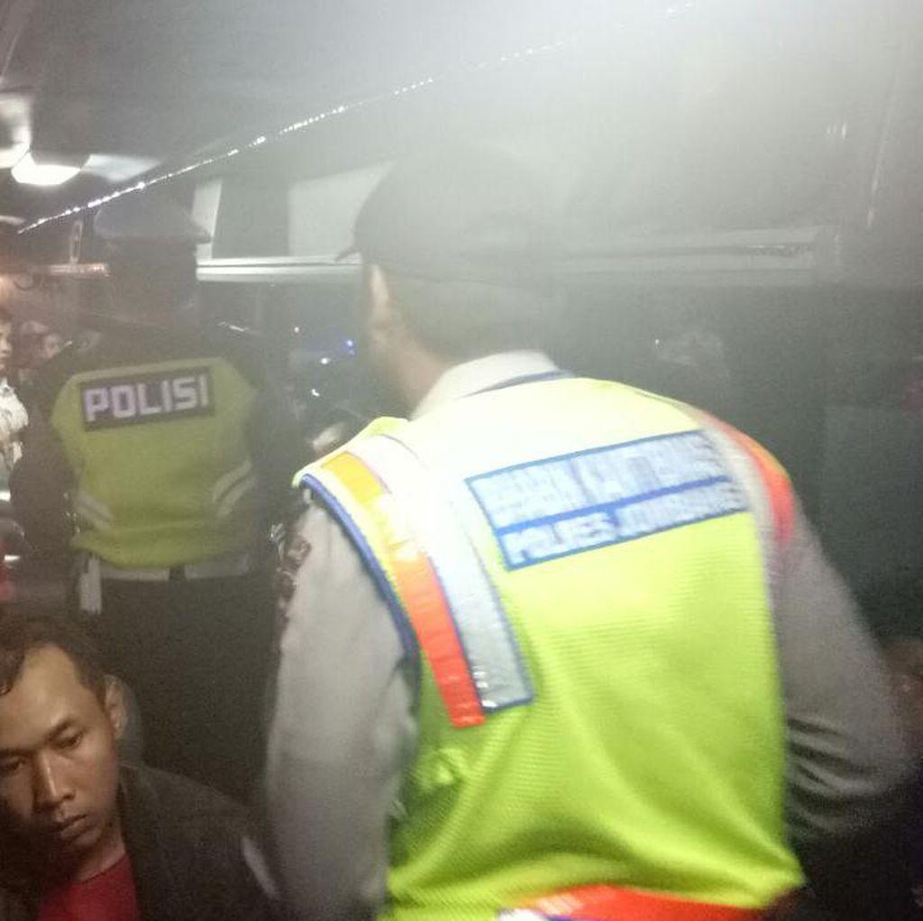 Antisipasi Bentrokan Anggota PSHT di Mojokerto, Polisi Razia Penumpang Bus