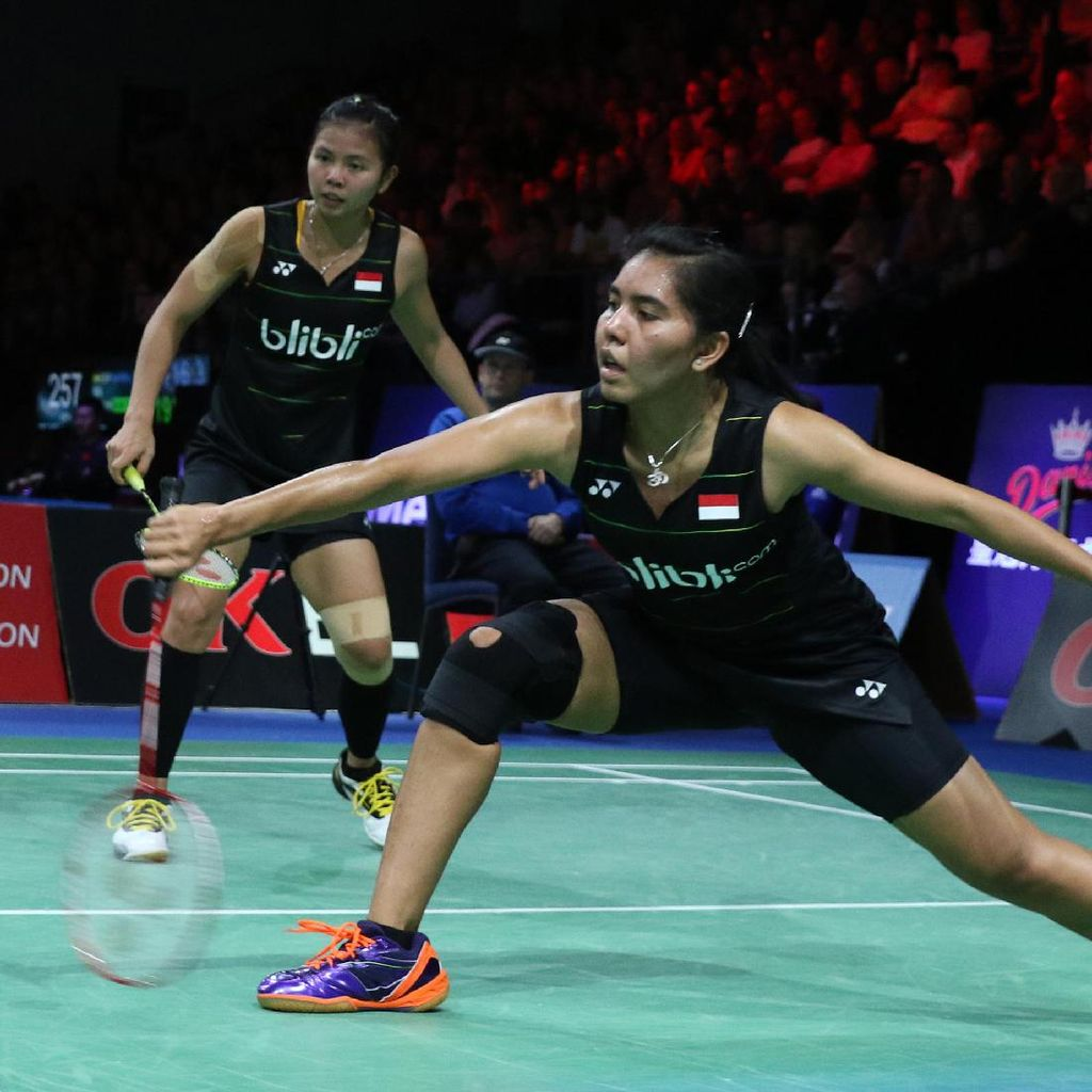 Greysia/Nitya ke Semifinal, Praveen/Debby Terhenti