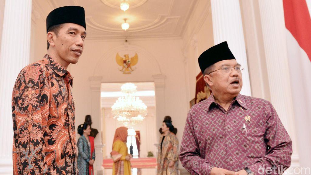 Jelang Setahun Memimpin, Tingkat Kepuasan Publik Terhadap Jokowi 46 Persen