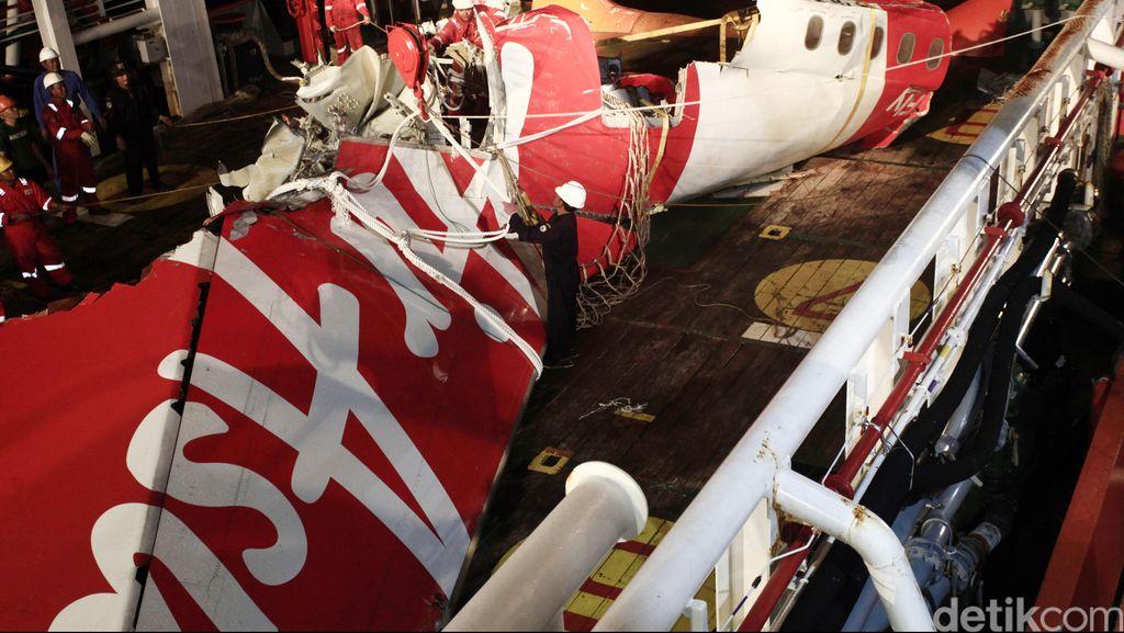Ini Kronologi Jatuhnya AirAsia QZ8501 di Selat Karimata