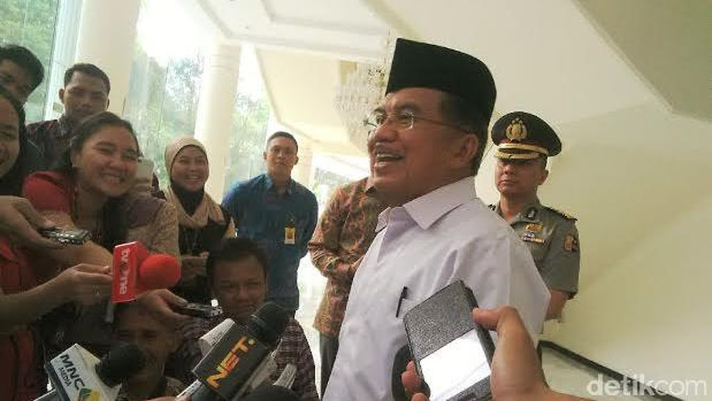 Wapres JK Tepis Isu Politis di Balik Mutasi Komjen Buwas: Ini Biasa