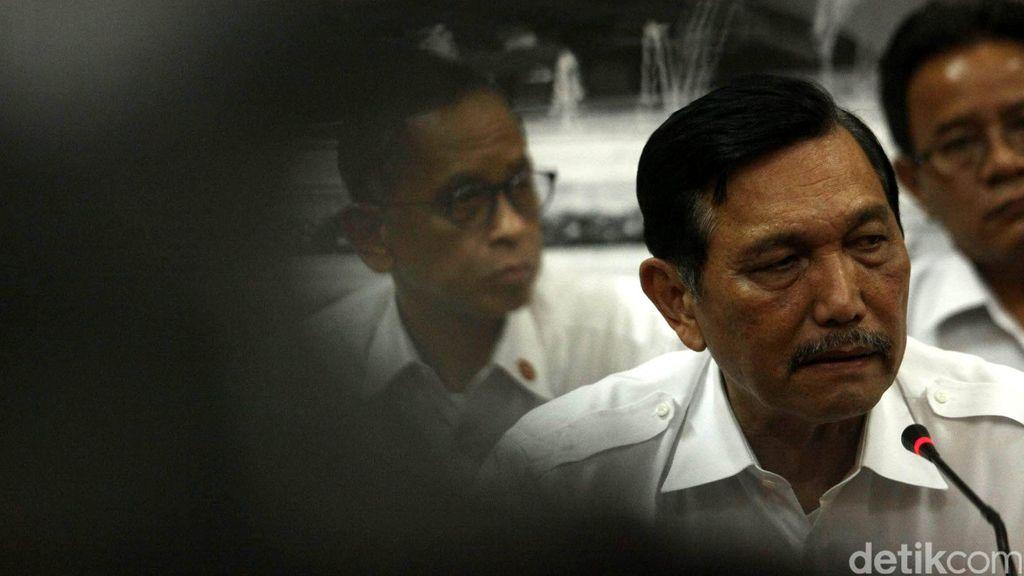 Menko Luhut: Pergantian di Kepolisian Biasa, Jangan Ditarik ke Politik