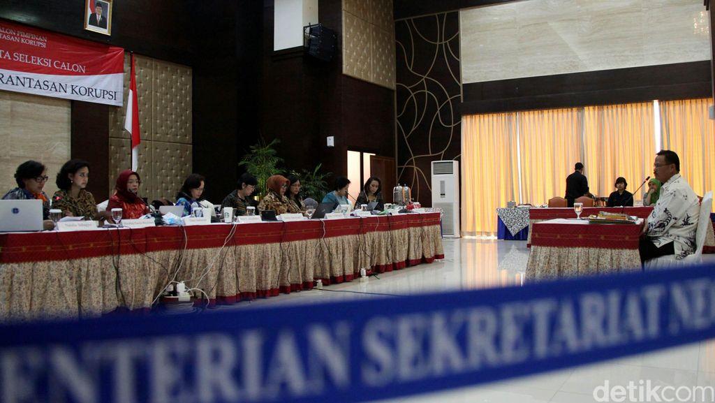Cerita Dingin-Panas Pansel Capim KPK Jaring Nama