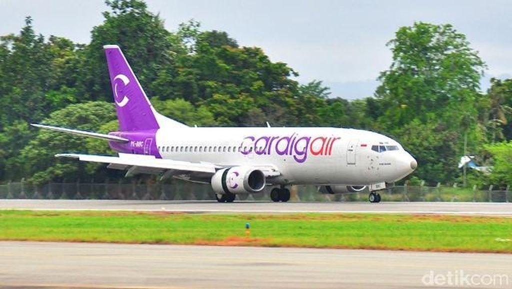 Pesawat Kargo Cardig Air Tergelincir di Wamena Papua