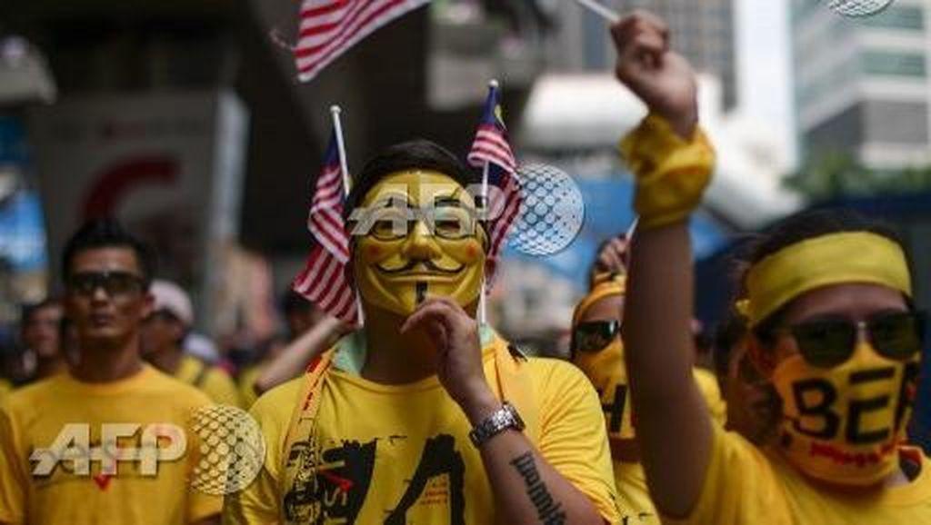 Sejarah Topeng Guy Fawkes 'Vendetta' yang Jadi Ikon Demonstrasi