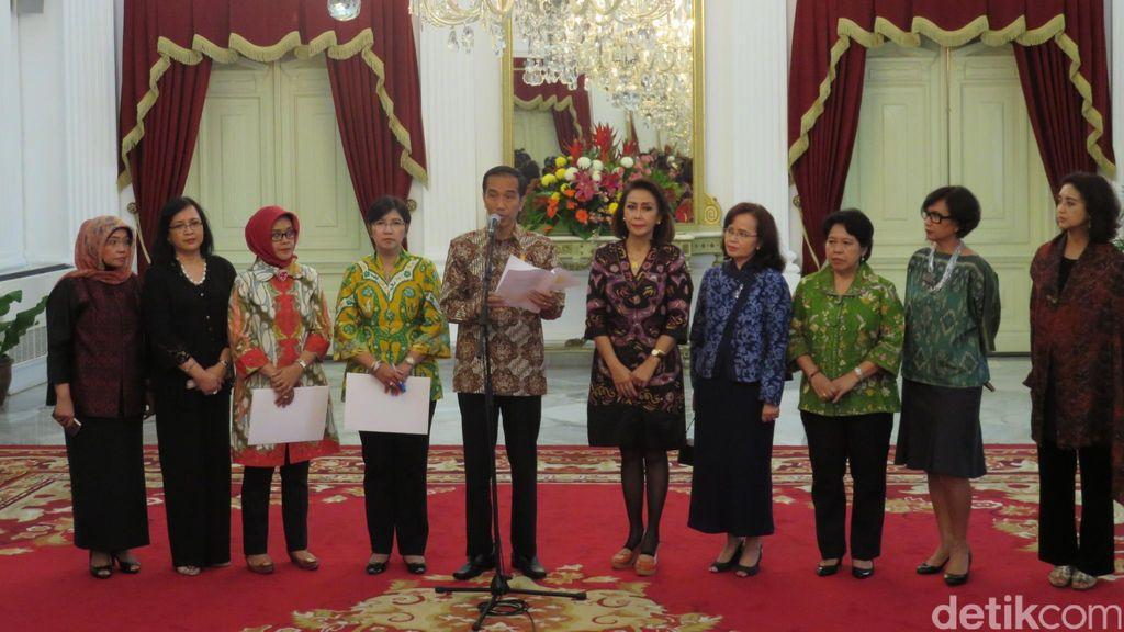 Jokowi Umumkan Capim KPK, Ini Daftar 11 Nama yang Terpental