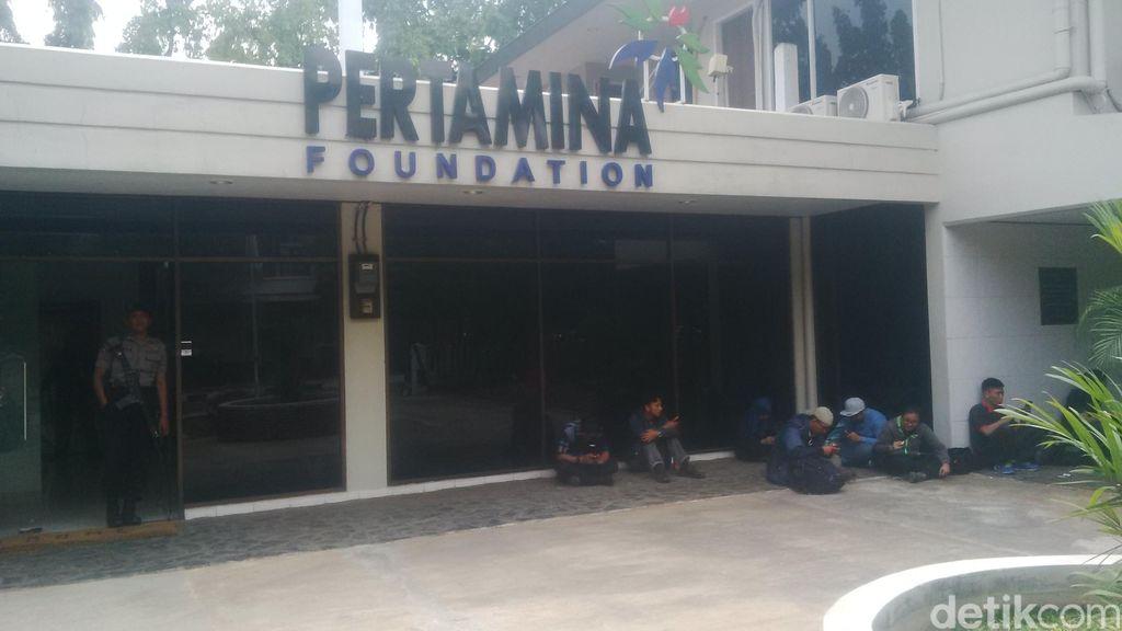 Kantor Pertamina Foundation di Simprug Digeledah Bareskrim
