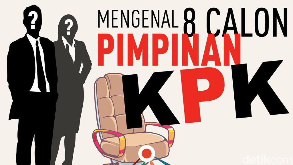 Mengenal Lebih Dekat 8 Calon Pimpinan KPK
