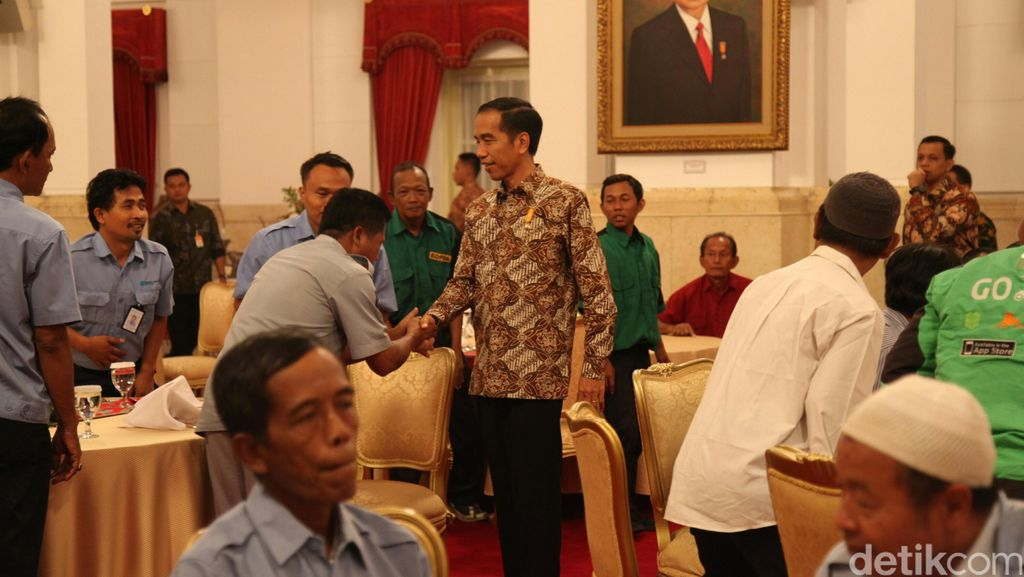 Pengendara Ojek Protes Penutupan Jalur ke Jokowi, Ahok: Cari Jalan Lain