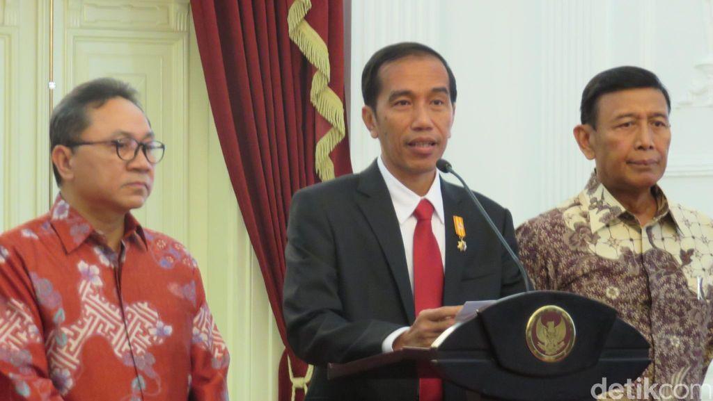 Jokowi: PAN Bergabung dengan Pemerintah