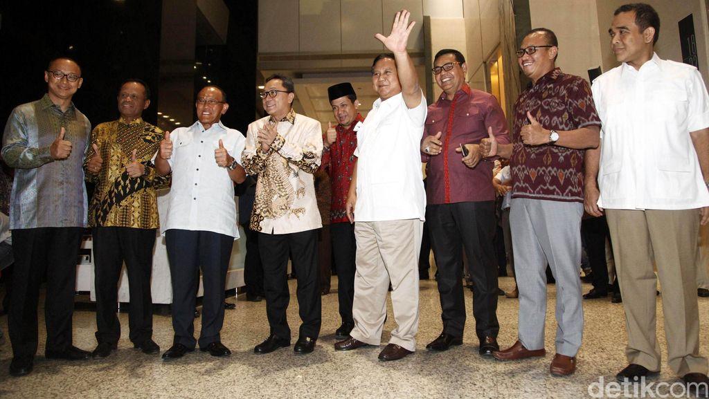 Pidato Politik dan Pantun Perpisahan Prabowo untuk PAN