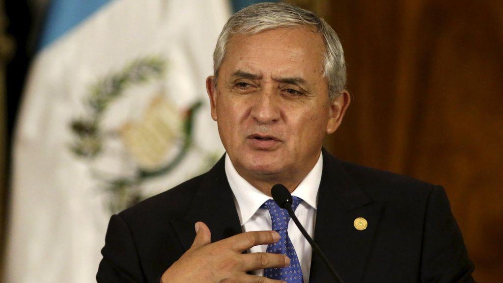 Dituduh Korupsi, Presiden Guatemala Mengundurkan Diri
