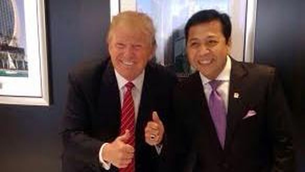 MKD akan Panggil Novanto dan Fadli Soal Kehadiran di Jumpa Pers Trump