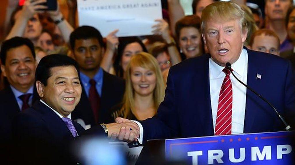 Istana Tepis Kirim Eddy Pratomo jadi Utusan Presiden Bertemu Donald Trump