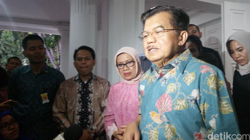 JK Dukung Langkah Kejagung Usut 'Papa Minta Saham'