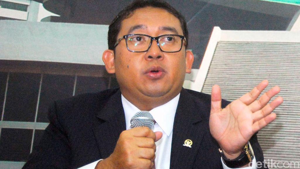 Fadli Zon: Gerindra Tak Pasang Badan untuk Novanto