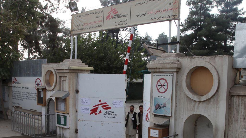 AS Salah Gempur Rumah Sakit Afghanistan, 33 Orang Belum Ditemukan