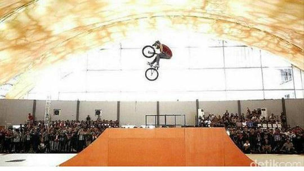 Tentang Aksi 'Terbang' Terakhir Taufan di Ajang X Sports