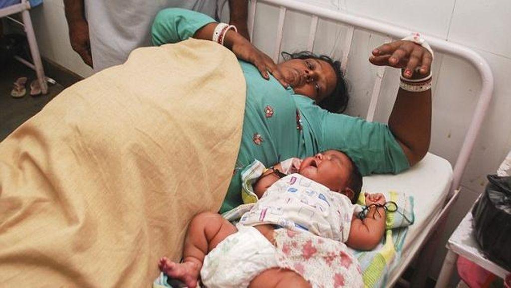 Ini Dia Bayi Terbesar di India, Bobotnya 5,8 Kg Saat Lahir