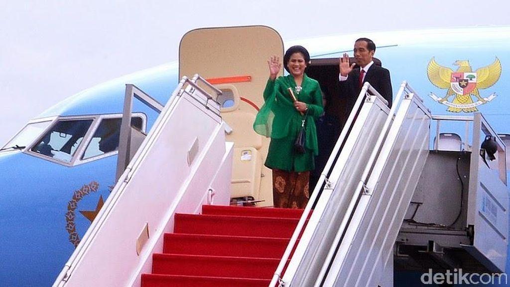 Jokowi Akan Tempuh Jalur Darat dari Padang ke Jambi dan Riau