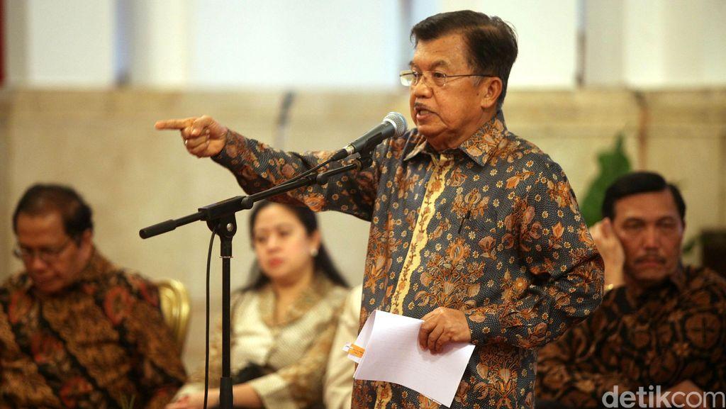 JK: Kalau Golkar Bela Novanto, Berhenti Pakai Suara Golkar Suara Rakyat!