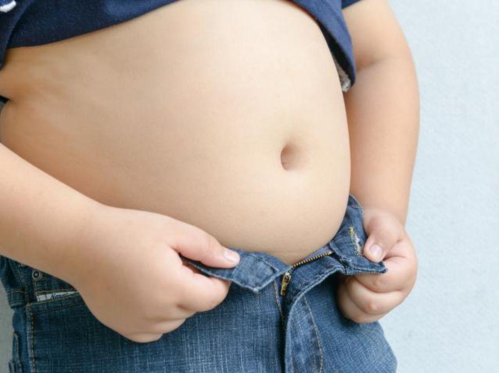 5 Langkah Kurangi Berat Badan Bagi Balita yang Kelebihan Gizi