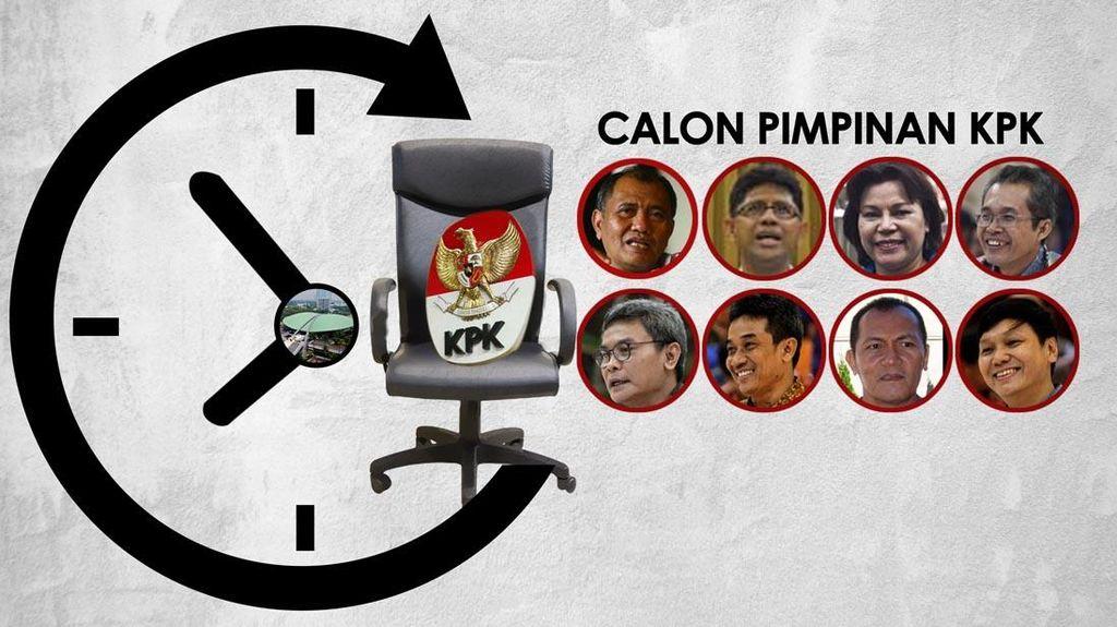 Komisi III DPR Tentukan Kelanjutan Nasib Uji Capim KPK Malam ini