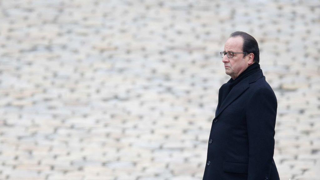 Prancis Mengenang Korban Teror Paris, Hollande Bersumpah Hancurkan ISIS