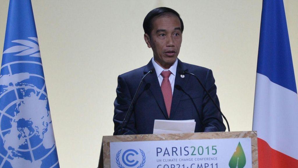 Pidato Lengkap Jokowi di COP21, Jabarkan Peran RI Pada Isu Lingkungan