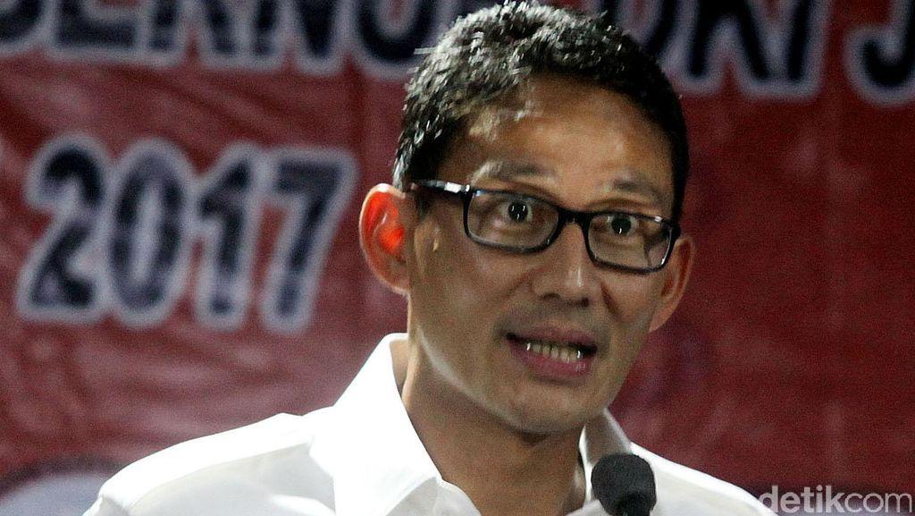 Siap Lawan Ahok, Sandiaga Uno: Harus Kita Akui Jakarta Ada Kurangnya