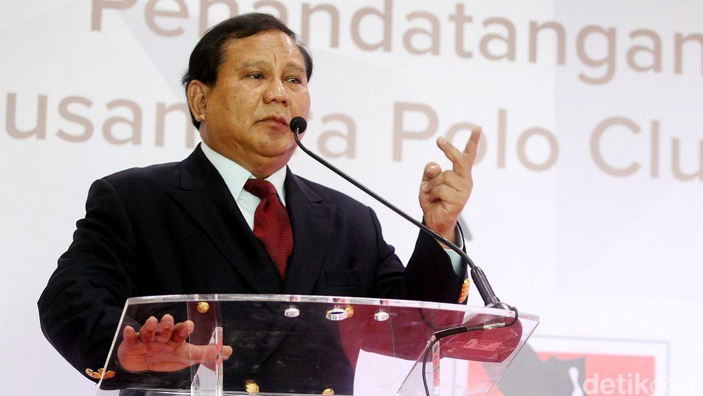 KMP Tamat, Prabowo: Gerindra Setia Jadi Penyeimbang
