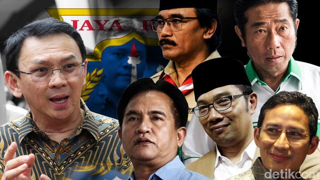 Jawab Kritikan Sandiaga, Ahok: Kita Buktiin Mana yang Sudah Bantu Warga Jakarta