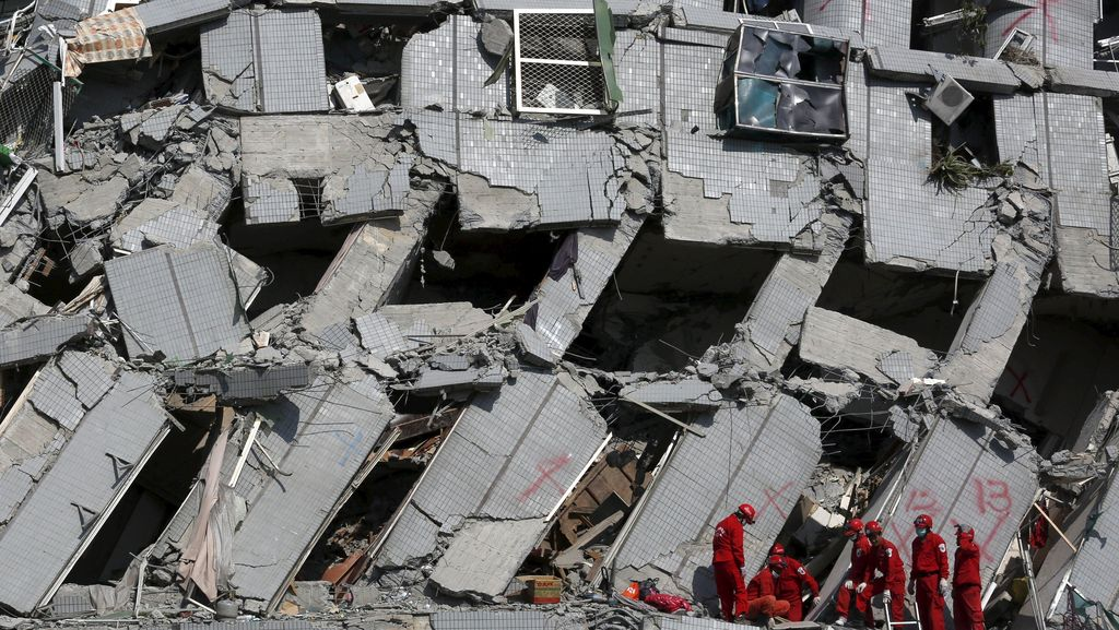 2 Hari Tertimpa Puing Akibat Gempa Taiwan, 2 Orang Berhasil Selamat