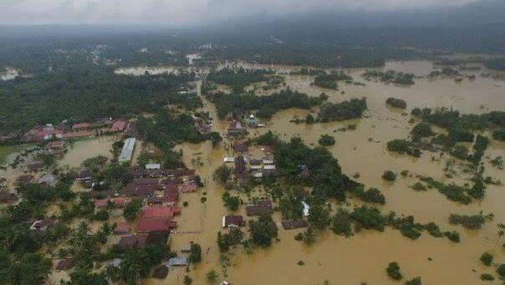 Begini Penampakan Dahsyatnya Banjir di Kabupaten Lima Puluh Kota Sumbar