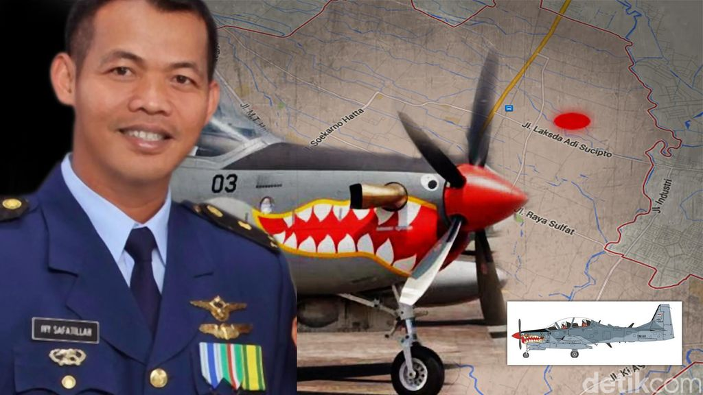 KSAU: Pilot Super Tucano Mayor Pnb Ivy Meninggal