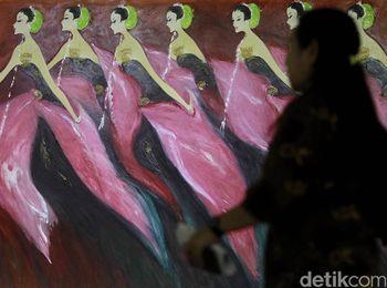 Pameran Lukisan Srihadi Soedarsono