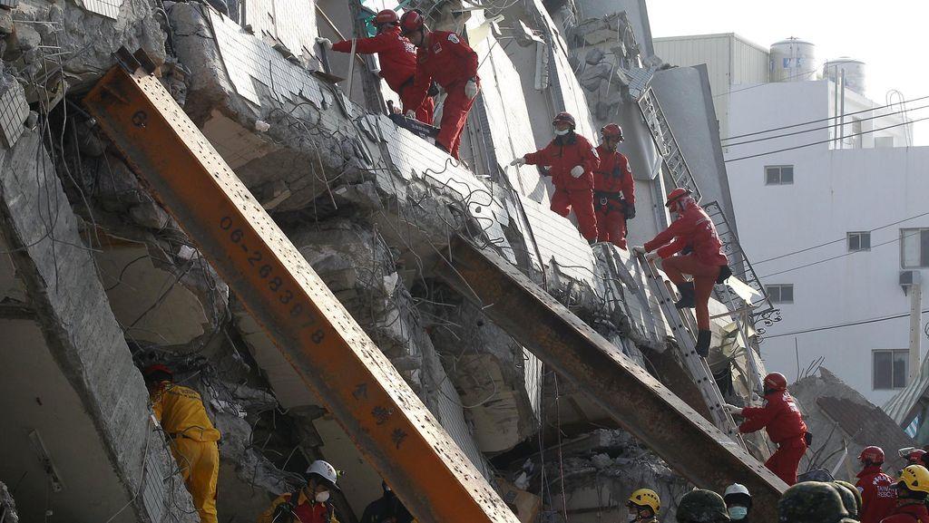 Gempa Taiwan Tewaskan 55 Orang, Pemerintah Beri Rp 13 M untuk Korban