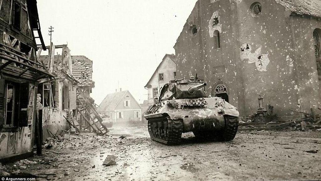 Potret Kengerian Perang Dunia II