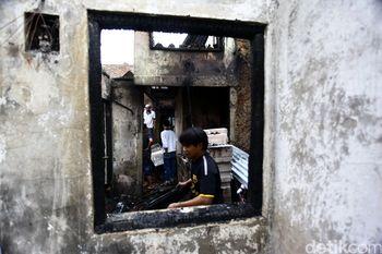 20 Rumah Ludes Terbakar di Petamburan