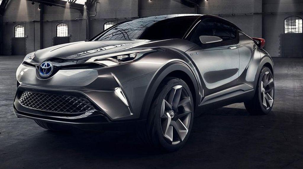 Versi Produksi Pesaing Honda HR-V dari Toyota Debut Bulan Depan